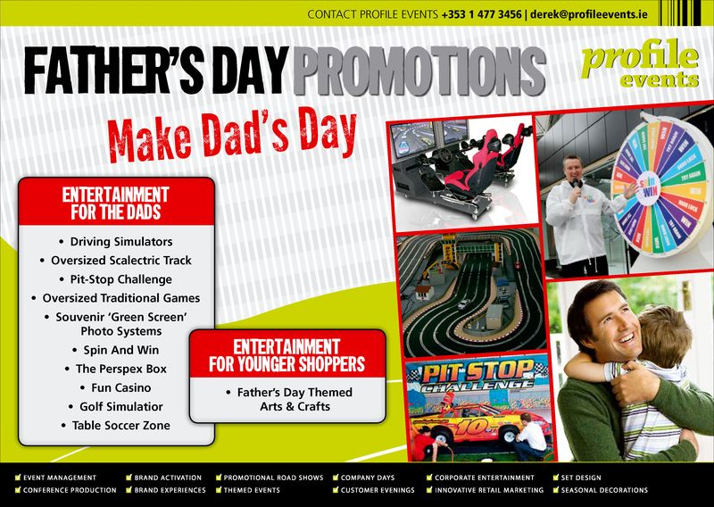 Profile Events-Father's Day Entertainment Concepts
