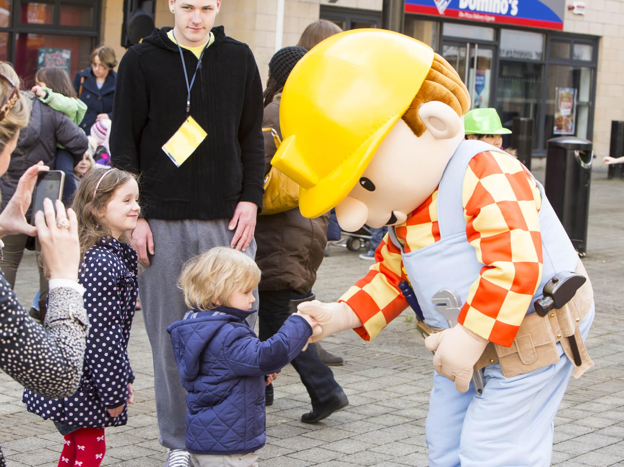 Project - Barney & Bob the Builder Show - Client - High Street Ashbourne 1