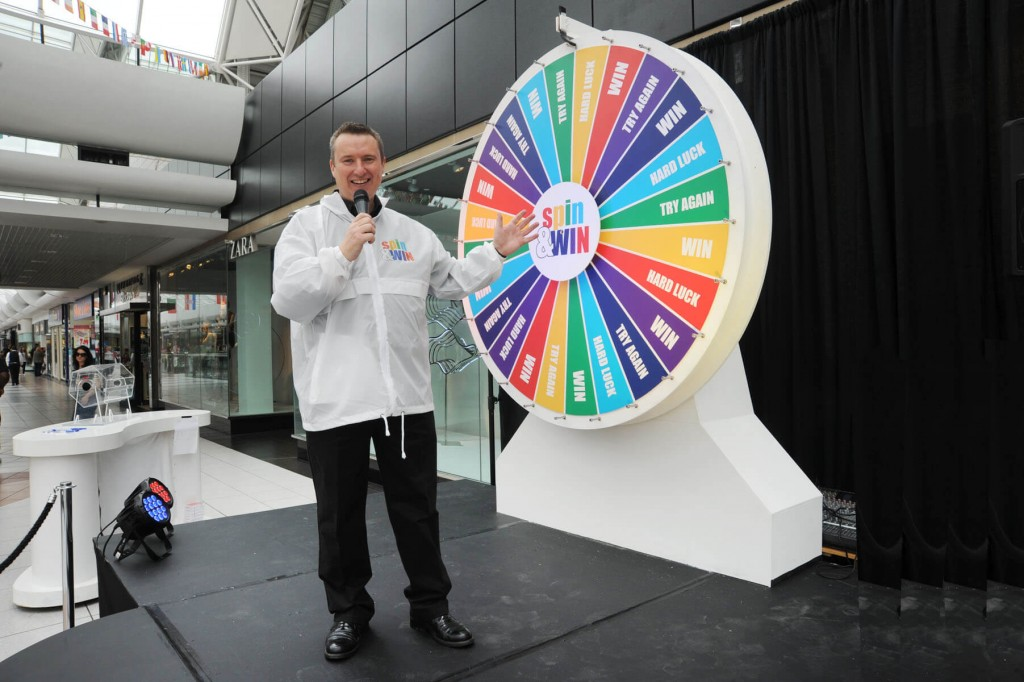 Project - Spin & Win Promotion- Client - Blancharstown Centre 5
